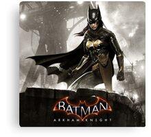 batgirl arkham knight Canvas Print