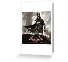 batgirl arkham knight Greeting Card