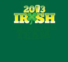 Official 2013 IRISH Shirt with beer pint and a shamrock Unisex T-Shirt