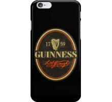 GUINNESS 1759 iPhone Case/Skin