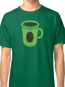Green coffee mug cute! Classic T-Shirt