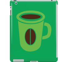 Green coffee mug cute! iPad Case/Skin