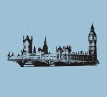 Houses of Parliament Kids Tee