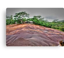 Coloured Earth (3) - Chamarel - The Mauritius Collection Canvas Print