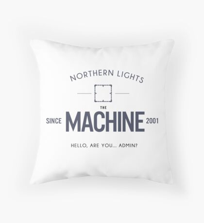 Person Of Interest - The Machine Throw Pillow