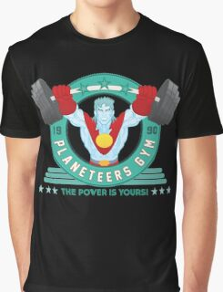 Planeteers Gym Graphic T-Shirt