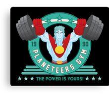 Planeteers Gym Canvas Print