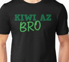 KIWI az BRO cute New Zealand design Unisex T-Shirt