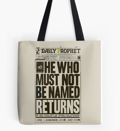 Daily Prophet Tote Bag