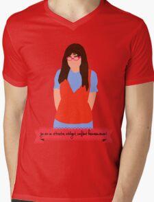 Ugly Betty Minimalist  Mens V-Neck T-Shirt