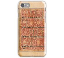 Qur'an leaf in eastern Kufic script, Persia or Central Asia iPhone Case/Skin
