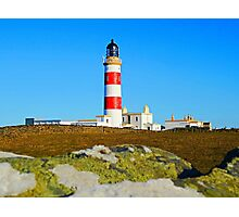Point of Ayre Lighthouse Isle of Man Photographic Print