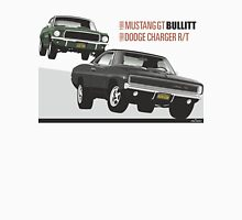 Ford Mustang GT and Dodge Charger from Bullitt Unisex T-Shirt