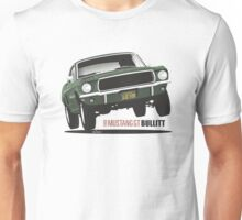 Ford Mustang GT from Bullitt Unisex T-Shirt