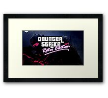 Counter Strike X GTA Framed Print
