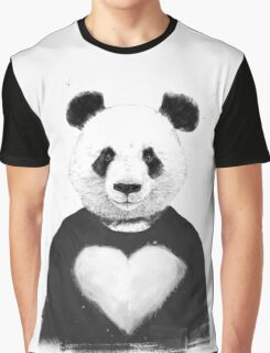Lovely panda Graphic T-Shirt