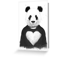 Lovely panda Greeting Card
