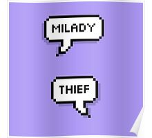 Milady/Thief Poster