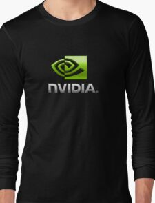 Nvidia's logo Long Sleeve T-Shirt