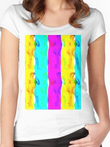 David Don`t glich me! Women's Fitted Scoop T-Shirt