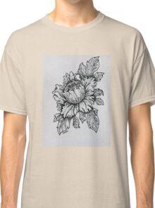 Japanese Peony Classic T-Shirt