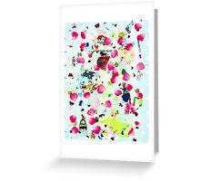 Rose Petal Shrapnel Part 2 Greeting Card