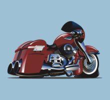 Cartoon Motorbike One Piece - Short Sleeve