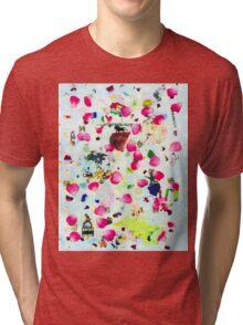 Rose Petal Shrapnel Part 2 Tri-blend T-Shirt