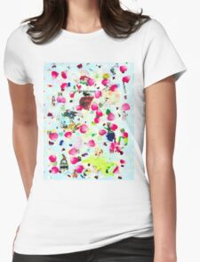 Rose Petal Shrapnel Part 2 Womens Fitted T-Shirt