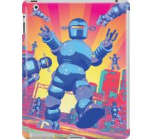 INVASION OF THE GIANT ROBOTS! iPad Case/Skin