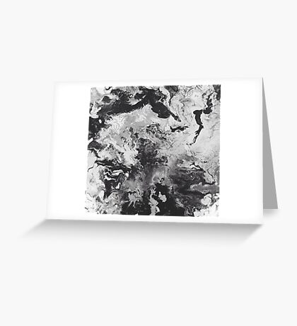 Acrylic Abstract Greeting Card