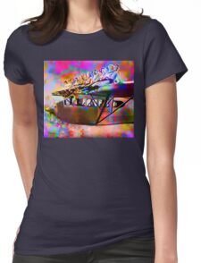 Economy Class Womens Fitted T-Shirt