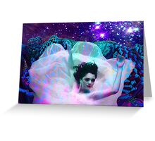 Ocean Ballet Greeting Card