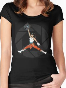 Air Chell Women's Fitted Scoop T-Shirt