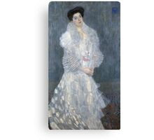 Gustav Klimt - Portrait Of Hermine Gallia  Canvas Print