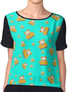 Snacky Cakes South Park  Chiffon Top