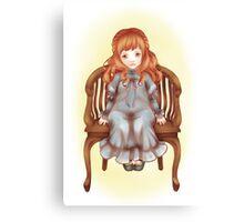 Pretty little doll Canvas Print