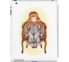 Pretty little doll iPad Case/Skin