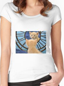 Mirror Mirror... Who's The Cutest Of Them All? Women's Fitted Scoop T-Shirt