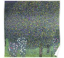 Gustav Klimt - Roses Under The Trees-   Gustav Klimt - Landscape Poster