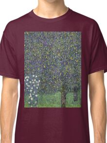 Gustav Klimt - Roses Under The Trees-   Gustav Klimt - Landscape Classic T-Shirt