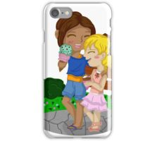 Ymir and Christa (Historia) Ice cream date iPhone Case/Skin