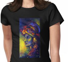 A touch of Africa Womens Fitted T-Shirt