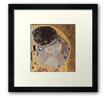 Gustav Klimt - The Kiss - Klimt - The Kiss Framed Print