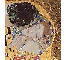 Gustav Klimt - The Kiss - Klimt - The Kiss Photographic Print