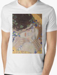 Gustav Klimt - The Kiss - Klimt - The Kiss Mens V-Neck T-Shirt