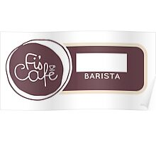 Barista Badge Poster