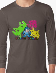 8 Bit Power  Long Sleeve T-Shirt