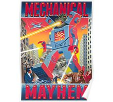 Mechanical Mayhem Poster
