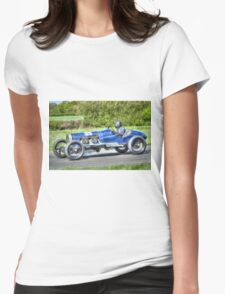 Pic Pic Vintage racing car Womens Fitted T-Shirt